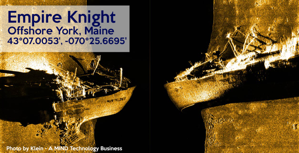 Wreck of the Empire Knight, Maine